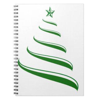 クリスマスツリー ノートブック