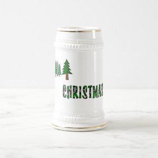 クリスマスツリー ビールジョッキ