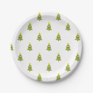 クリスマスツリー ペーパープレート