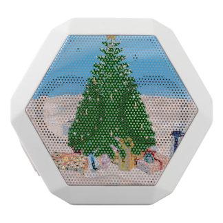 クリスマスツリー ホワイトBluetoothスピーカー