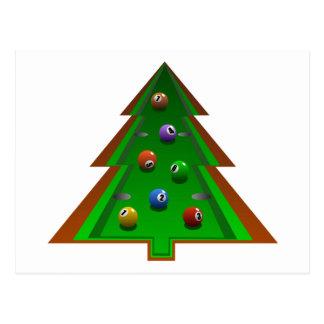 クリスマスツリー ポストカード