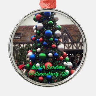 クリスマスツリー メタルオーナメント