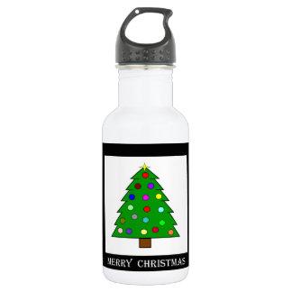クリスマスツリー(メリークリスマス) ウォーターボトル