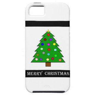 クリスマスツリー(メリークリスマス) iPhone SE/5/5s ケース