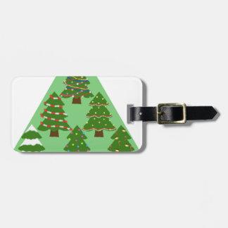 クリスマスツリー ラゲッジタグ