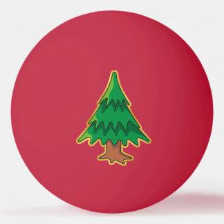 クリスマスツリー 卓球 ボール