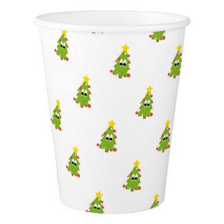 クリスマスツリー 紙コップ