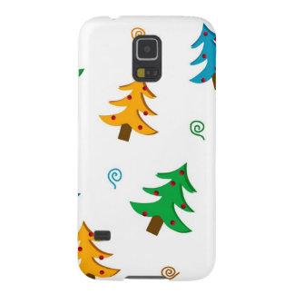 クリスマスツリー GALAXY S5 ケース