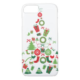 クリスマスツリー iPhone 8/7ケース