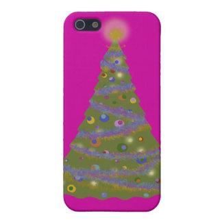 クリスマスツリー iPhone SE/5/5sケース