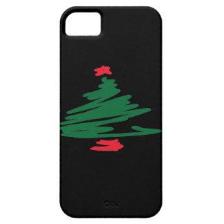 クリスマスツリー iPhone SE/5/5s ケース