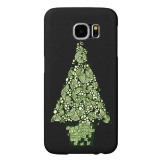 クリスマスツリー SAMSUNG GALAXY S6 ケース