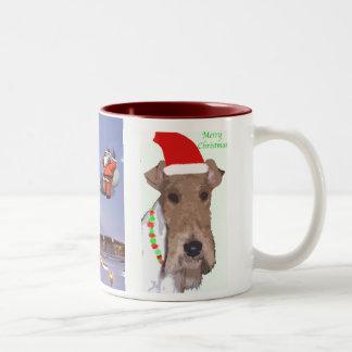 クリスマステリアのマグ ツートーンマグカップ