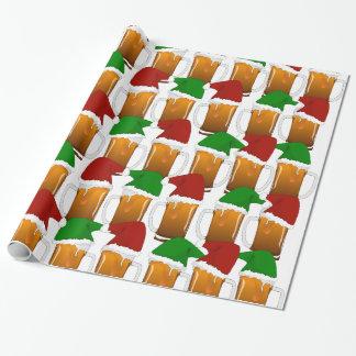 クリスマスビール応援 ラッピングペーパー