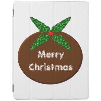 クリスマスプディングカスタムなiPadカバー iPadスマートカバー