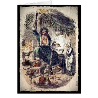 クリスマスプレゼントの幽霊 カード