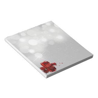 クリスマスプレゼント-メモ帳 ノートパッド