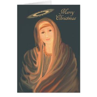クリスマスマドンナ カード