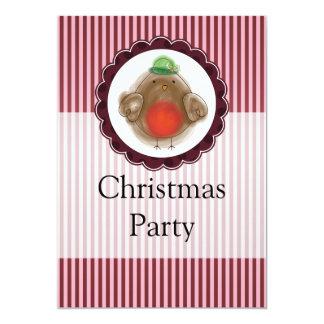 クリスマスロビン カード