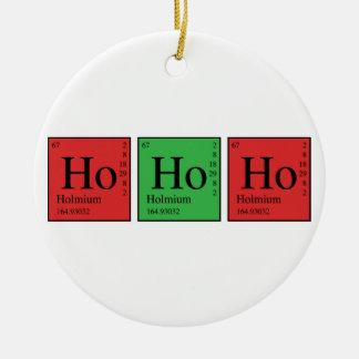 クリスマス化学 セラミックオーナメント