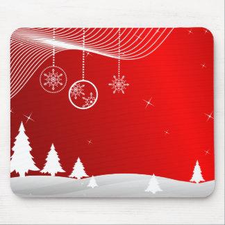クリスマス場面 マウスパッド