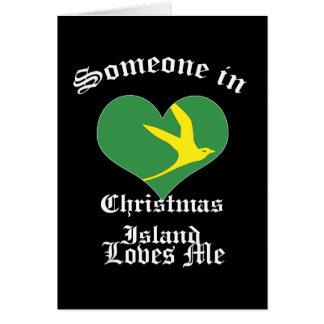 クリスマス島 カード