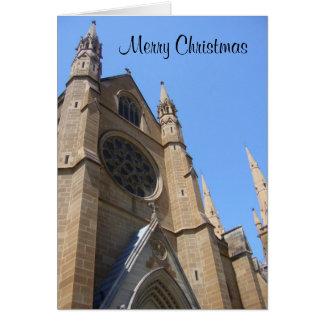 クリスマス教会 カード