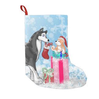 クリスマス犬! スモールクリスマスストッキング