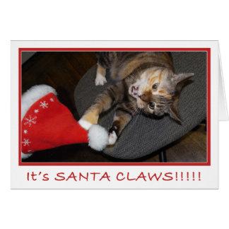 クリスマス猫の攻撃II カード