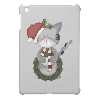 クリスマス猫サンタ iPad MINI CASE