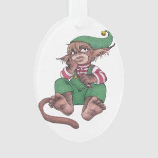 クリスマス猿の格言の装飾 オーナメント