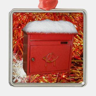 クリスマス郵便 メタルオーナメント
