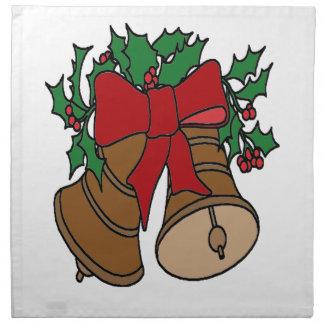 クリスマス鐘 ナプキンクロス