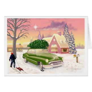 クリスマス1951年 カード