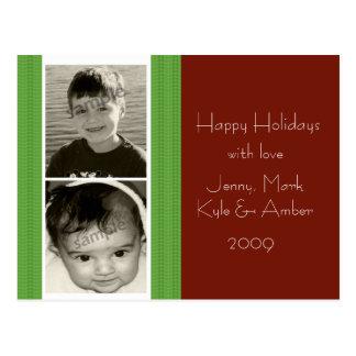 クリスマス2の写真カード… ポストカード