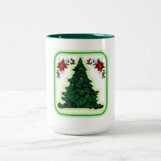クリスマス2の調子のマグ ツートーンマグカップ