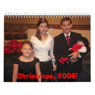 クリスマス2006のカレンダー カレンダー