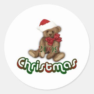 クリスマス2009年 ラウンドシール