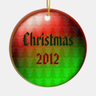 クリスマス2012年 セラミックオーナメント