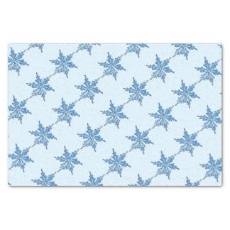 クリスマス3のための冬の雪片のデザイン 薄葉紙