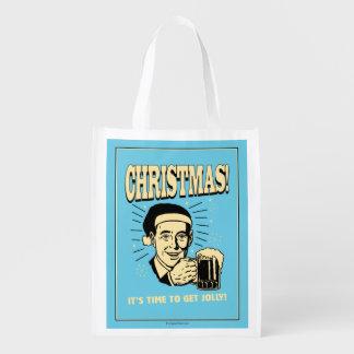 クリスマス: それはすてきになる時間です エコバッグ