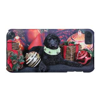 クリスマス-アセル-プードル iPod TOUCH 5G ケース