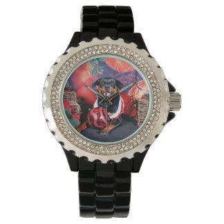 クリスマス-アテーナー-ロットワイラー 腕時計