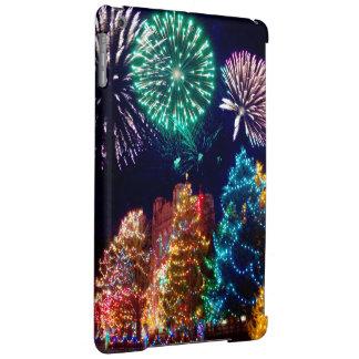 クリスマス、カラフル、虹色、出現、木