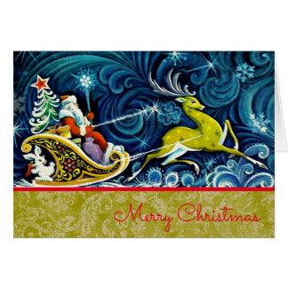 クリスマス-カード(より多くのサイズ) カード