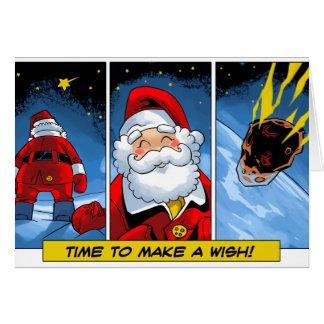 クリスマス。 サンタの願い カード