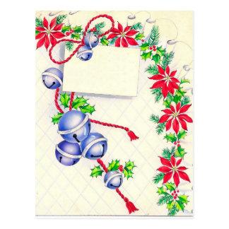 クリスマス、ジングルベル ポストカード