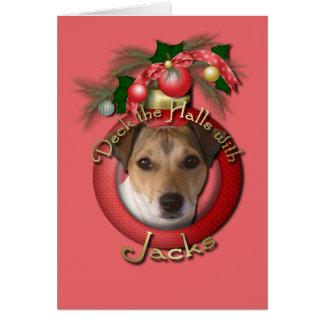 クリスマス-デッキホール-ジャッキ カード
