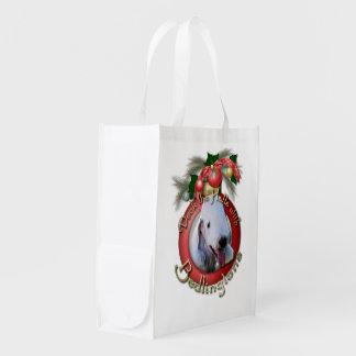 クリスマス-デッキホール- Bedlingtons エコバッグ