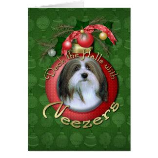 クリスマス-デッキホール- Neezers カード